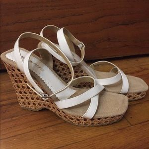 Boston proper wedge sandals